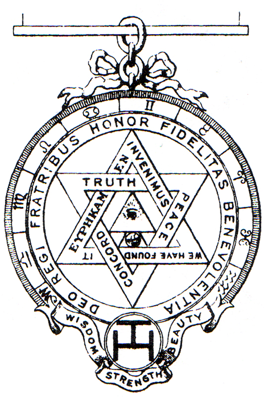 Royal Arch Companions Jewelst Andrew Royal Arch Chapter No 146
